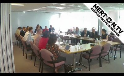Merton Council Cabinet Meeting 30 July 2018