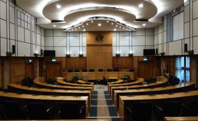 Merton Council Chamber