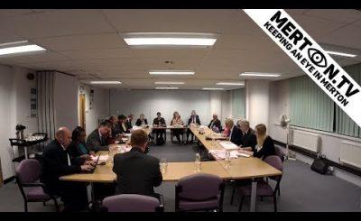 Merton Council Cabinet Meeting 15 October 2018