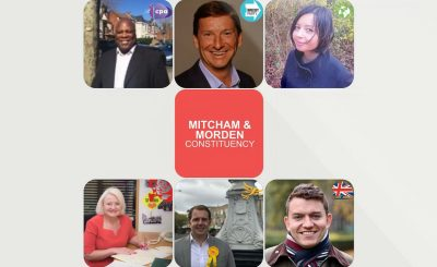 Candidates for Mitcham and Morden Constituency General Election 2019
