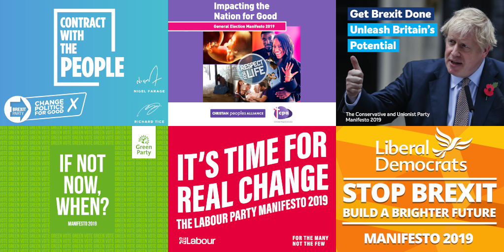 Merton TV Party Manifestos