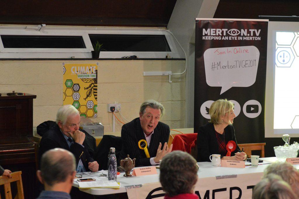 Graham Hadley, Paul Kohler, Jackie Schneider & Stephen Hammond represented by a bowl of melting ice cubes