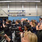 Conservatives celebrating Stephen Hammond win