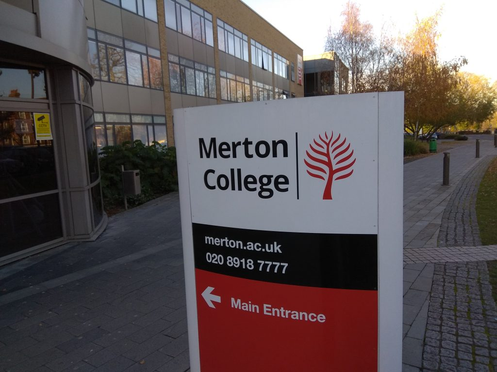 Merton College Mitcham and Morden Hustings 3 December 2019