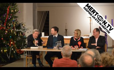 Wimbledon Churches Hustings 10 December 2019