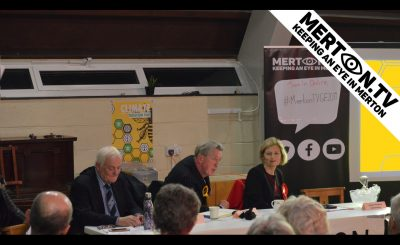 XR Merton Wimbledon Climate Question Time 4 December 2019