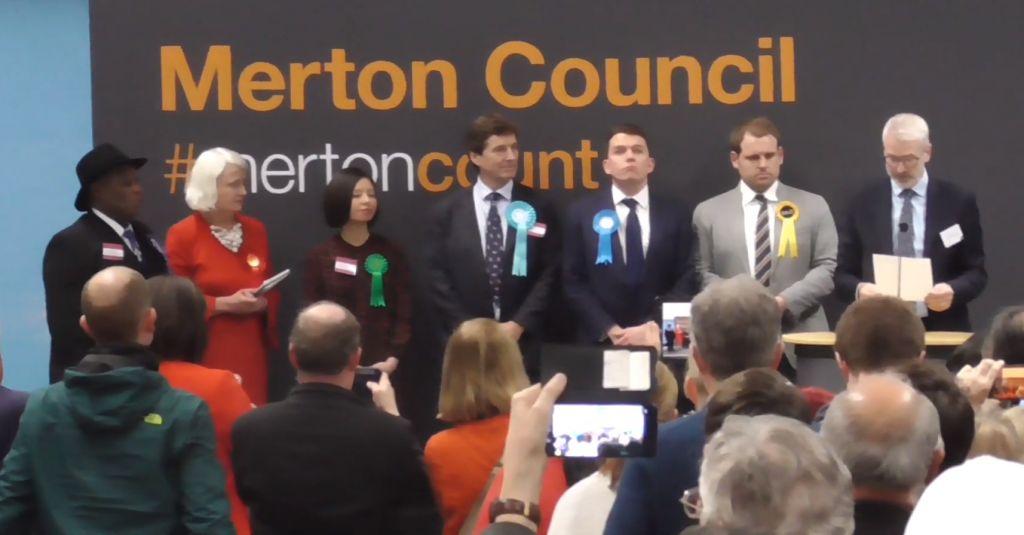 Mitcham & Morden General Election Result Siobhain McDonagh