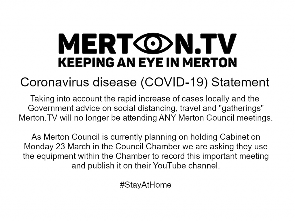 Coronavirus disease (COVID-19) Statement