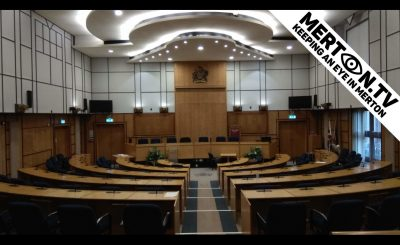 Merton Council Empty Chamber