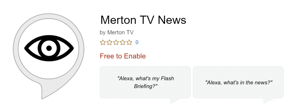 Merton TV News Free to Enable