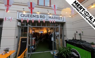 Merton TV Queens Road Market