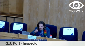 G.J. Fort - Planning Inspector - South London Waste Plan Examination in Public Hearing