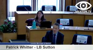 Patrick Whitter - Sutton Senior Planning Officer - South London Waste Plan Examination in Public Hearing