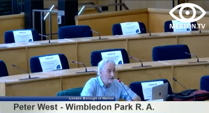 Peter West - Wimbledon Park Residents Association - South London Waste Plan Examination in Public Hearing