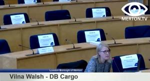 Vilna Walsh - DB Cargo - South London Waste Plan Examination in Public Hearing